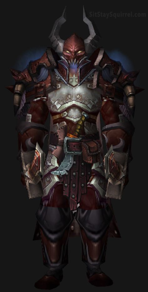 Male Human Warrior Transmog