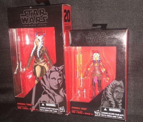 "#starwars Star Wars Black Series Ahsoka Tano 6"" & 3.75"" Figure Walmart Exclusive"