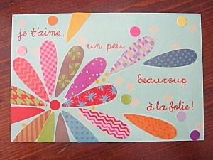 fête des mères ou des pères - idée de carte