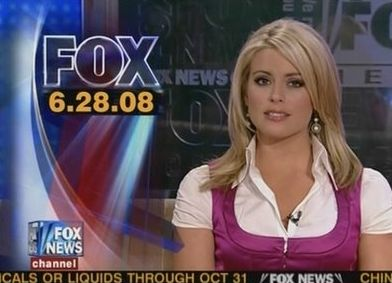 Courtney is currently a news anchor at FOX News. Description from listoid.com. I searched for this on bing.com/images