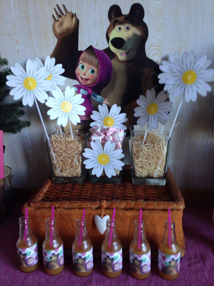 Masha e Orso Party Girl - Sweet Table