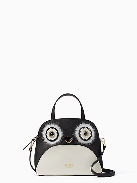 eed446bd0a5c Kate Spade Dashing Beauty Penguin Small Lottie, Black in 2019 | Products |  Bag Accessories, Kate spade, Kate spade purse
