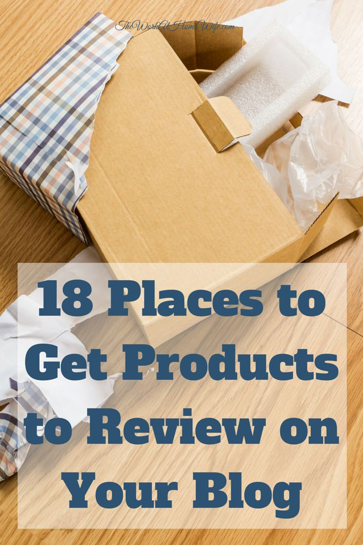 250+ Places to Get Free Products to Review on Your Blog