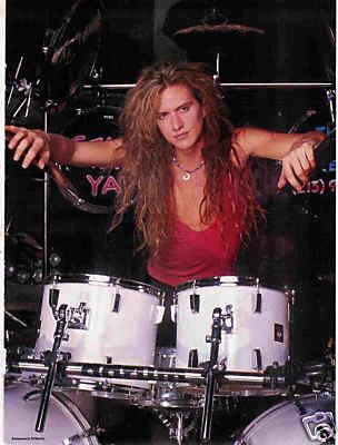 Blas Elias - Heavy Metal drummer from Slaughter.