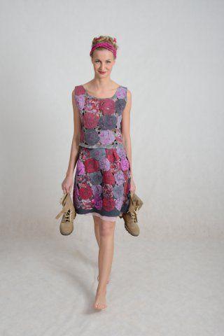 Kolekce jaro 2015 - Plstěné šaty