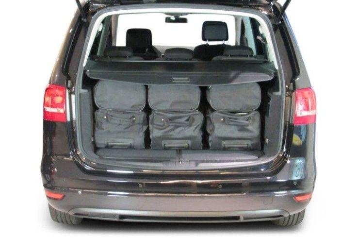 Sacs De Voyage (Set) Specifiques Coffre De Voiture-Seat-Alhambra-2010-2015 - Accessoire auto