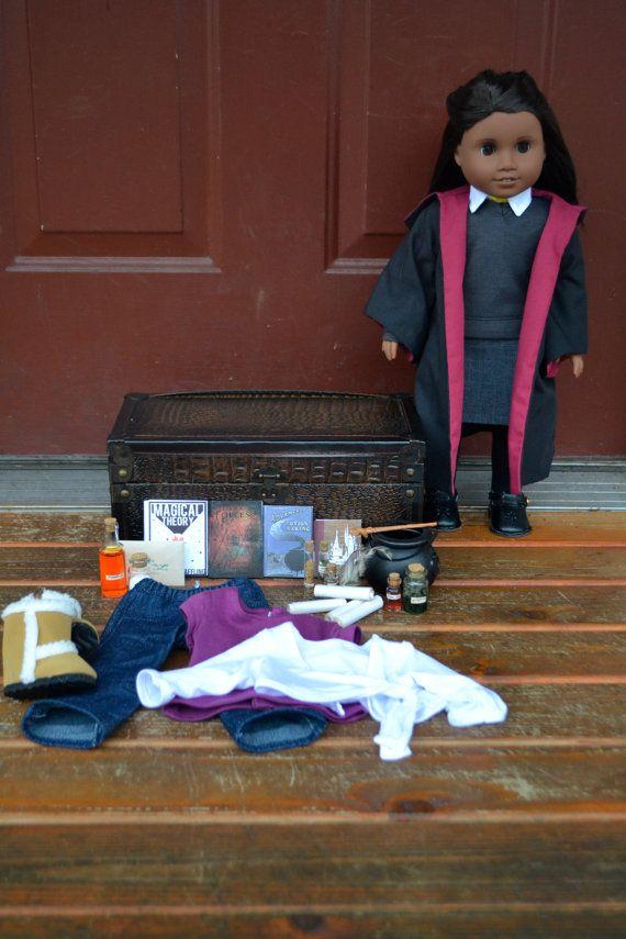 Custom American Girl Doll Set Paravati Patil by KateLaurenDesigns