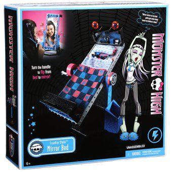 Cama espejo de Frankie Stein Monster High Mattel Mirror Bed