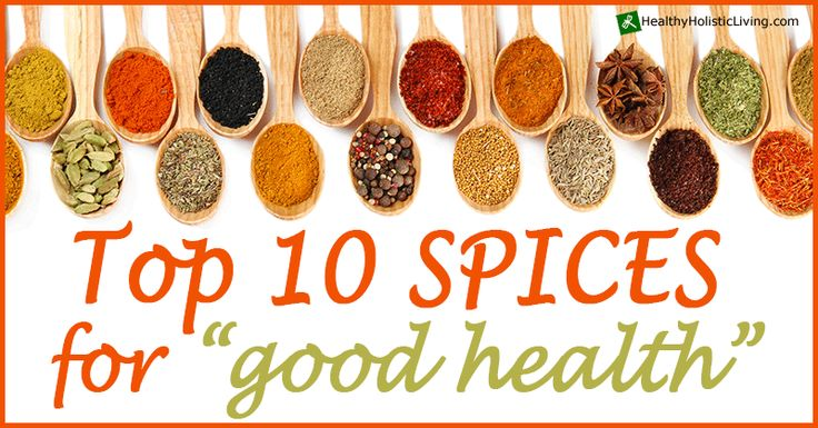 Much is made of using a variety of herbs and spices for good health. There's a huge variety of tasty items available to be added to home cooking and various home remedies. Before we get...