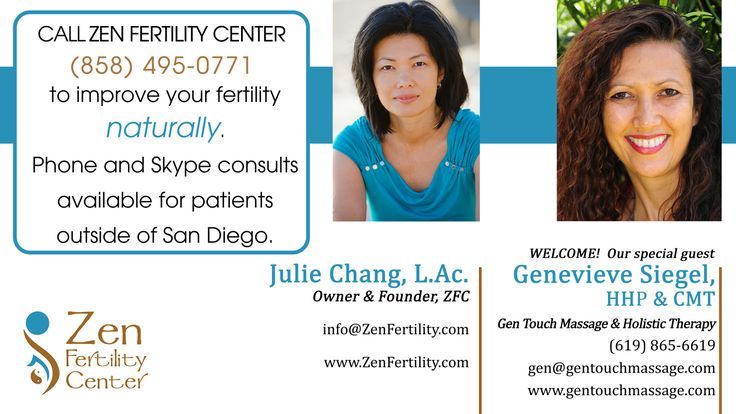 Genevieve Siegel is a Holistic Health Practitioner and one of San Diego's Leading Authorities in Holistic Fertility treatments.
