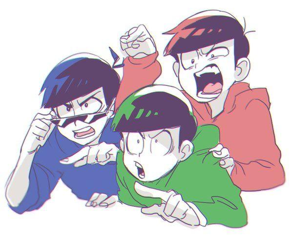 Kara, Choro and Oso (M: dorks uwu)