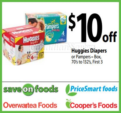 Printable coupons for pampers swaddlers diapers
