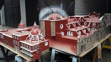 Maqueta Catedral de Puebla. 2016.