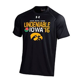 Under Armour® NCAA® University of Iowa Undeniable Rose Bowl Game Short Sleeve Tee