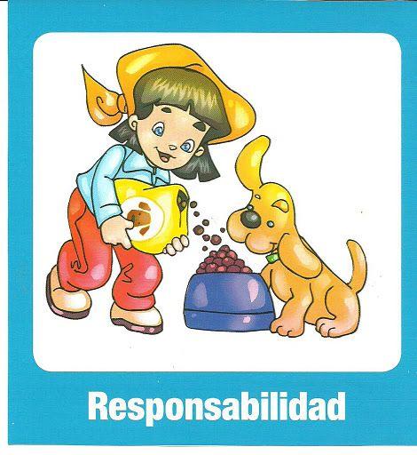 Responsabilidad, valores para imprimir