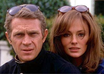 Steve McQueen and Jacqueline Bisset in Bullitt