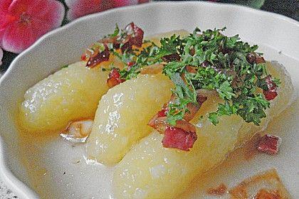 Fränkische Zwiebelklöße | Rezept | Fränkische küche ...