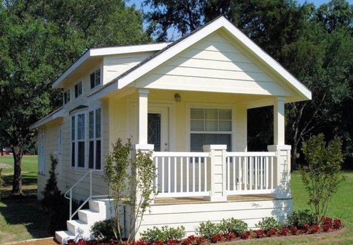 Single Wide Mobile Homes with Front Porches