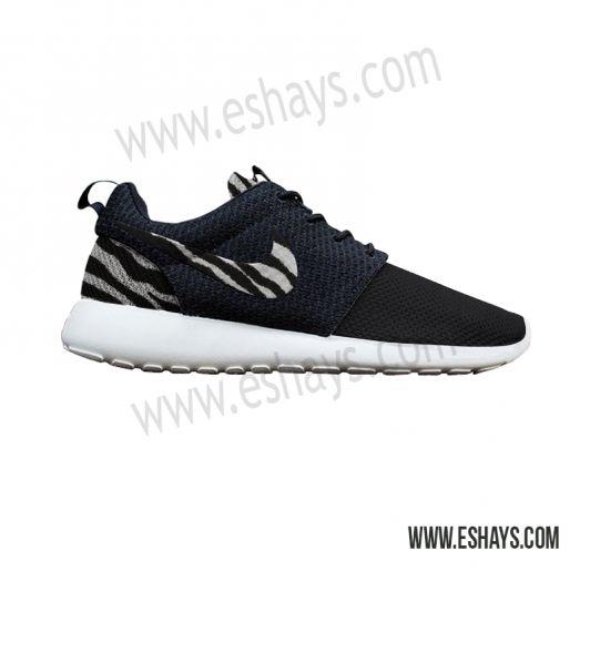 Custom Roshes- Zebra Print Nike Roshe Run - Women, Men, Kids