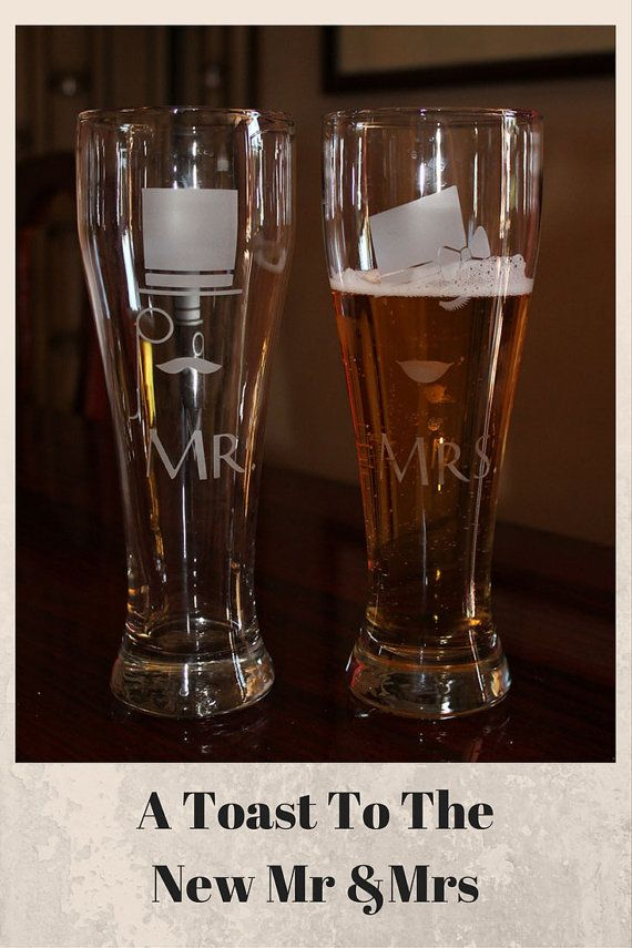 Hipster Beer Glasses Steampunk Beer Glasses by LuckyBeeDesigns