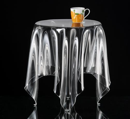 Tisch Illusion Transparent Groß, Jetzt Auf Fab.