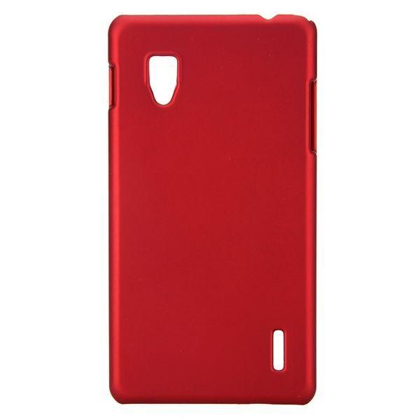 Hard Shell (Rød) LG Optimus G E973/E975 Deksel