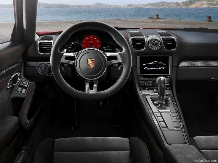 2015 Porsche Cayman GT4 Race Car Interior