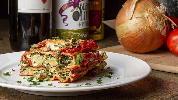 {Vegan} Crock Pot Lasagna – The Flaming Vegan: A Vegan and Vegetarian Blogging Extravaganza