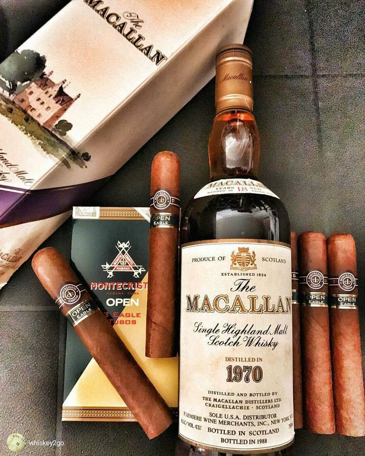 Everything here is just  #Macallan #Montecristo #Repost  from @whiskey2go WWW.CIGARSANDWHISKEYS.COM Like , Repost , Tag  Follow  Us & Subscribe ✍ on:...