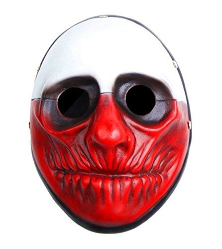 Payday 2 the Heist Wolf Mask Halloween Mask Collection Mask Wall Mask Party Props *** See this great product.