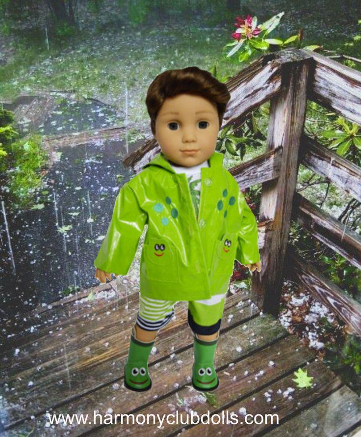 """Shop doll clothes that fits Logan, American Girl Doll or any other 18"""" boy doll www.harmonyclubdolls.com"""