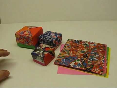 Origami - Pochette traditionnelle - YouTube