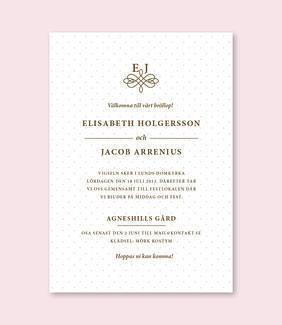Lovelyprints Bröllopsinbjudningar | Bröllopsinbjudningar