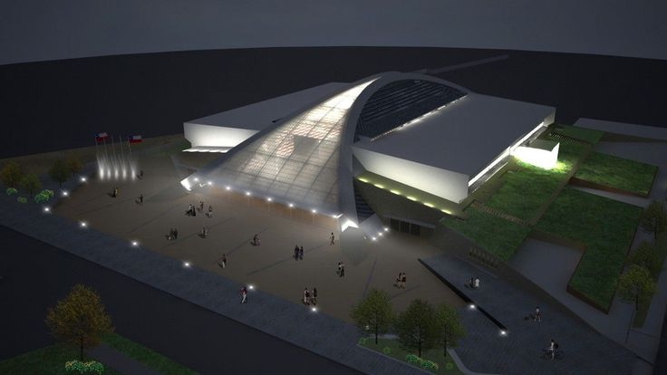 Recinto Polideportivo Odesur / Judson & Olivos Arquitectos