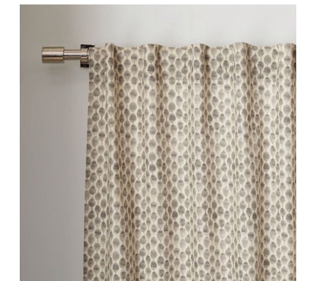 West Elm Curtain (With Images)