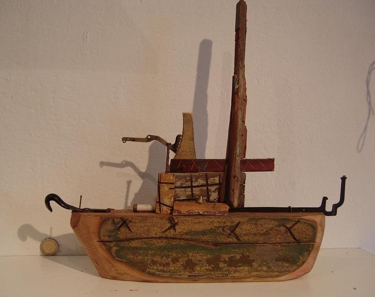 'Boat' / 'Barco' #4 by 4Manos2Cabezas (Mariana Padilla & Diego D'Amico)