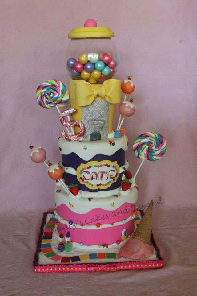 Cake Decorating Ideas With Lollies : 1000+ ideas about Lolly Cake on Pinterest Chocolate ...