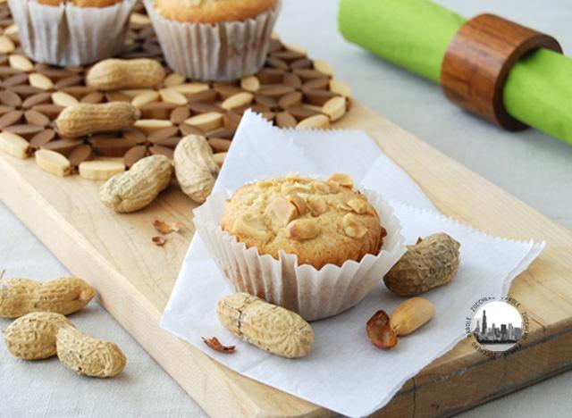 Cupcakes alla crema di arachidi.