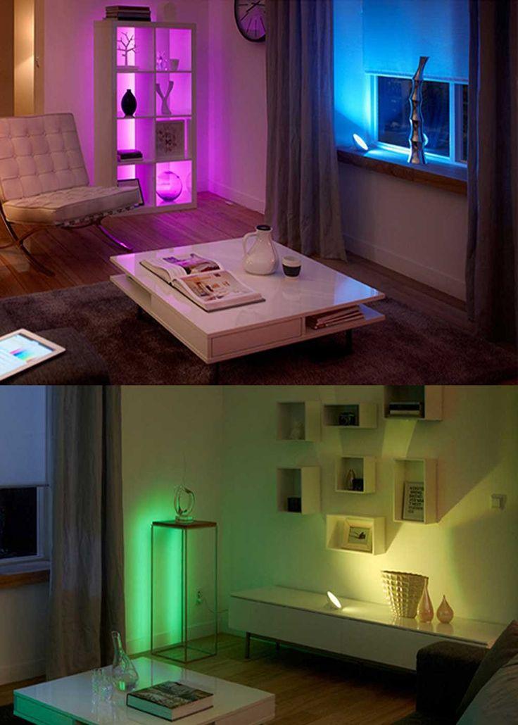 LED Smart Light Bulbs, Ksleder® E27 7W 500-550LM Wireless Bluetooth Remote…