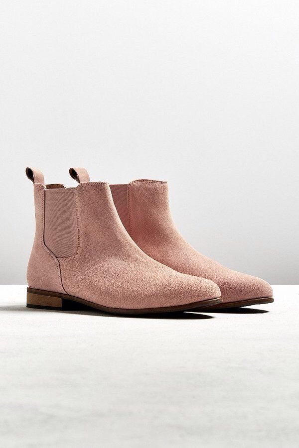 Pinterest // Sophie Kate...ℓσνєѕ ღ | Urban Outfitters UO Suede Chelsea Boot