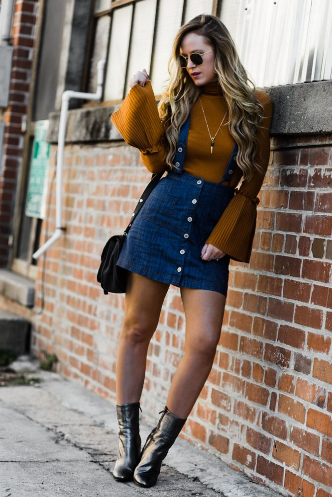 Bell Sleeve Sweater Outfit