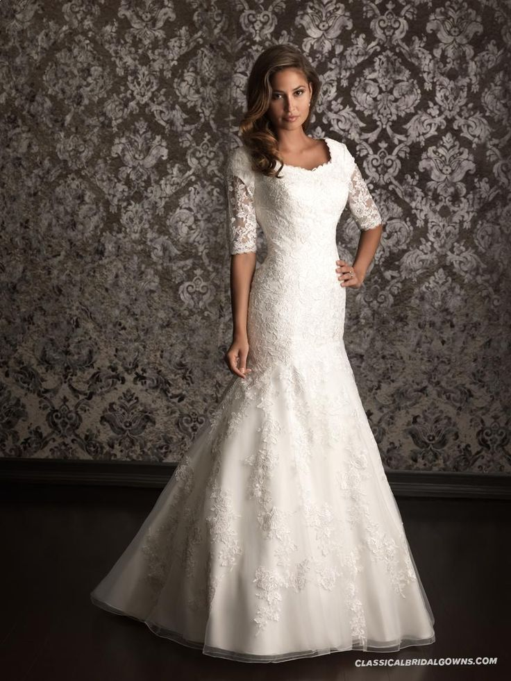 55 best images about Wedding dress on Pinterest | Modest wedding ...