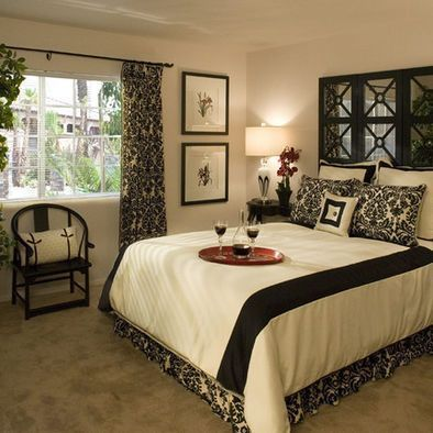 Damask Bedroom Design, Pictures, Remodel, Decor And Ideas! I Love This!