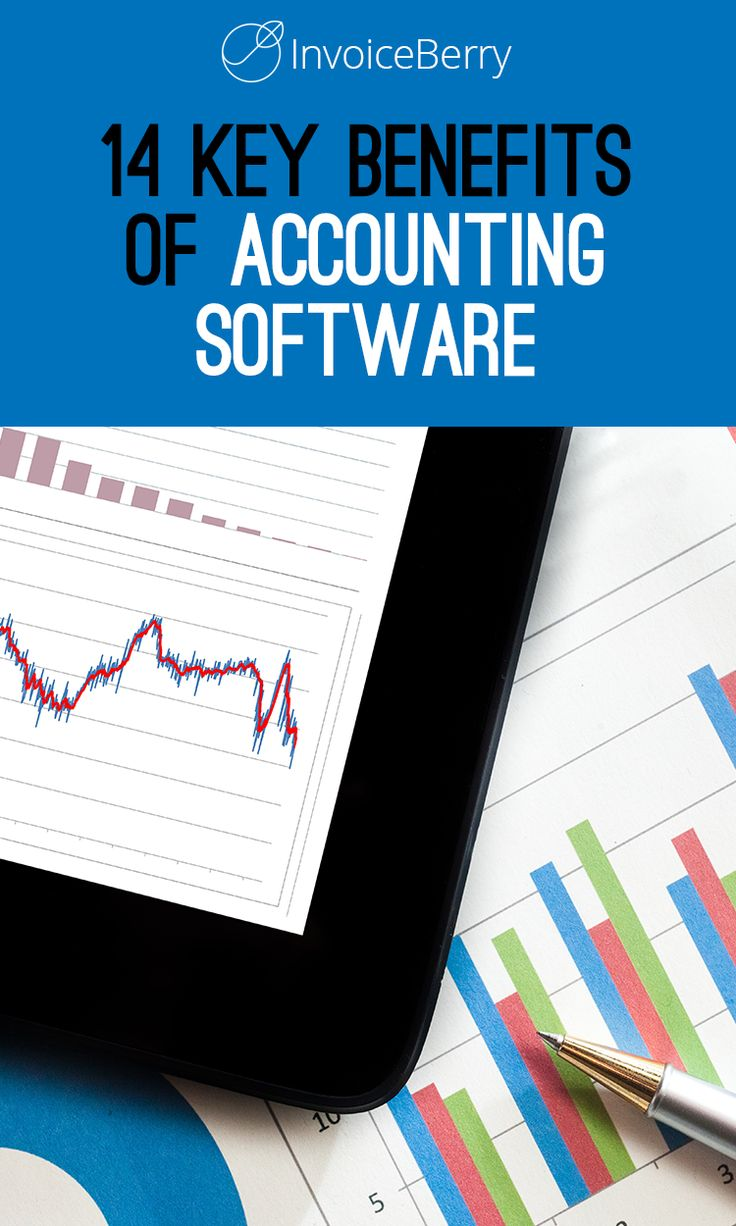 Saving time is only one of the advantages of the accounting software.   Learn all 14 of them now!  http://blog.invoiceberry.com/2017/03/key-benefits-accounting-software-company/