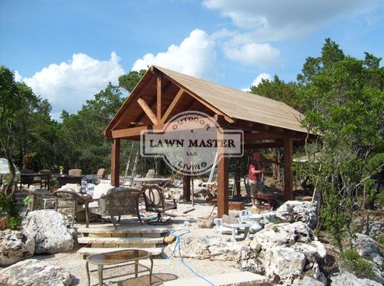 Lawn Master Outdoor Living : 16 best images about Gable Pavilion on Pinterest ...