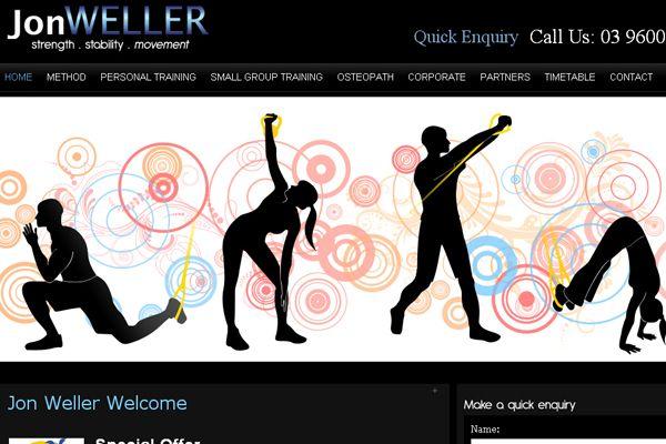 JonWeller- Music Website