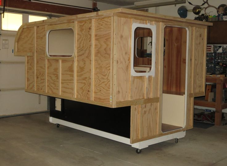 Small Camper With Slide Out >> Build Your Own Camper or Trailer! Glen-L RV Plans | Build a camper, Homemade camper, Pickup camper