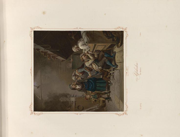 Norske Folkelivsbilleder 05 - Afskeden (Adolph Tidemand). jpg (4432×3372)