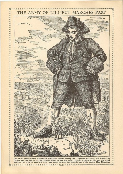 A literary analysis of the ideals in gullivers travels by jonathan swift