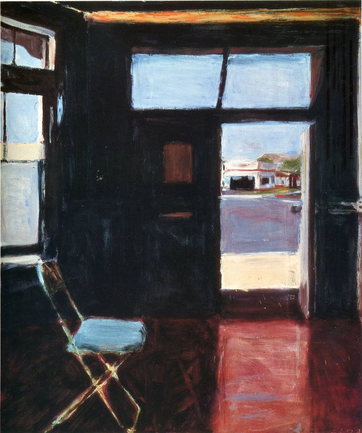 Richard Diebenkorn. I like his abstract interiors and cityscapes.